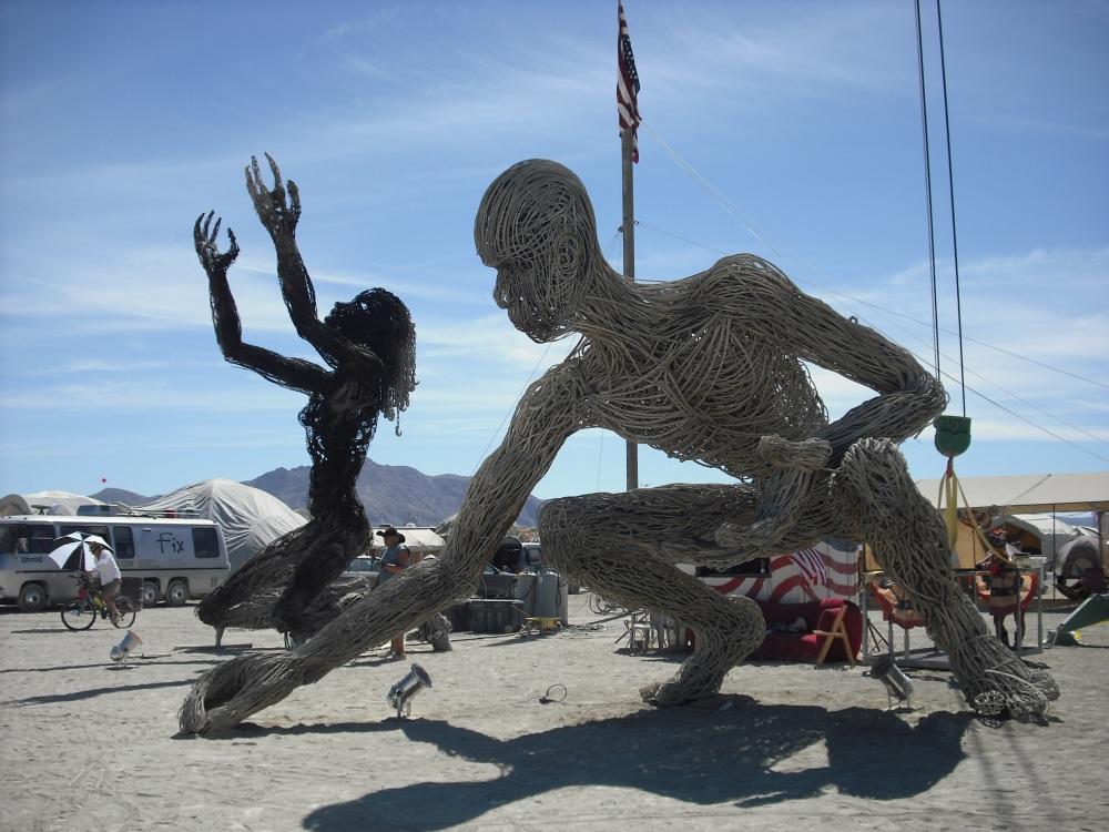 How I came to China: Burning Man (3/4)