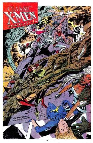 Classic X-Men 28-29