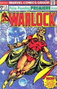 Warlock original cover